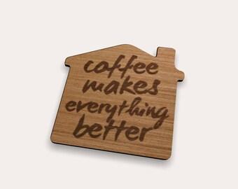 Coffee 262-431 Coaster (Set of 4)