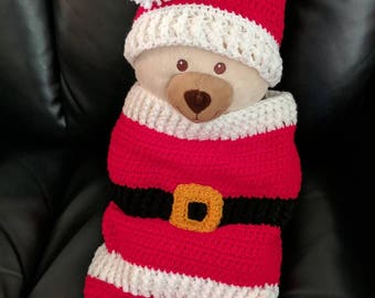 Santa Cocoon with Hat