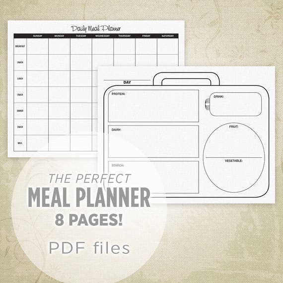 printable daily meal planner akba greenw co