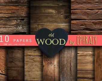 Wood Digital Paper. Old wood digital paper. Wood backgrounds. Wood paper. Wood texture. Digital paper wood. Digital paper