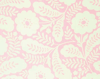 Heather Bailey Pink Primrose - Clementine - Free Spirit cotton quilt fabric - one yard or by the yard
