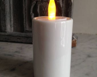 Electric candle to put on a candle holder in my shop