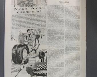 Tires   #109  General Tires   Magazine Ad -  1929