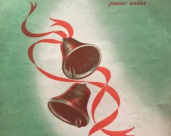 Happy New Year Darling sheet music Carmen Lombardo Johnny Marks St. Nicholas music 1949