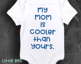 Just a city boy nj baby new jersey nj baby onesie baby my mom cooler than yours cool mom funny body suit baby negle Images