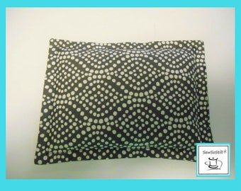 """Microwaveable Heating Pad, Rice Bag, Heat Massage Therapy, Rice Heating Pad, Cramps, Relaxation Gits, Pick a Print, Spot Heat Pack 6"""" x 8"""""""