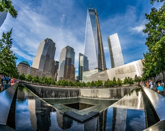 9/11 Memorial and One World Trade Center