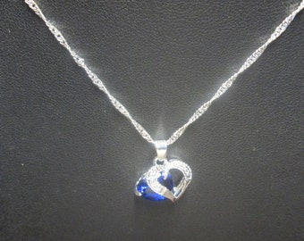 Necklace and Earring Set heart earrings