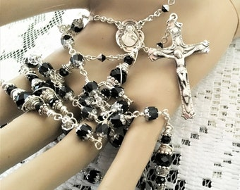 Sterling Silver Unbreakable Rosary