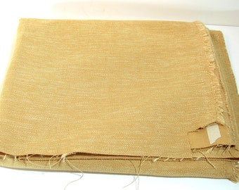 Gold Woven Upholstery Fabric, 1 1/3 Yards
