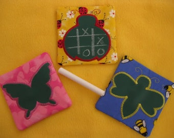 Digital Download  Bugs Mini Chalk Mats Embroidery Machine Designs for the 4x4 hoop