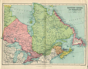 large map of canada