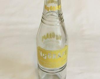 1976 NuGrape 10oz ACL Bottle - Doraville, GA