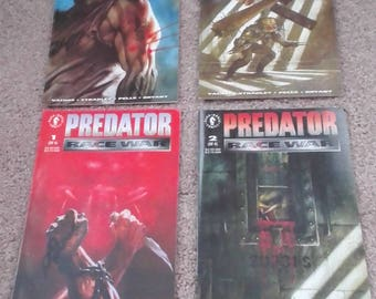 Predator By Dark Horse Comics/ Race War 1993 Series 1-4