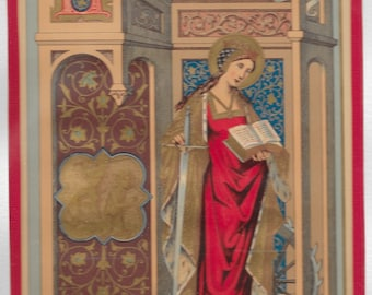 Lives of the Saints : St catherine