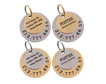 Custom Dog Tag, Pet Tag, Personalized Tag, Pet Id Tag, Dog Collar Tag, Dog Tag for Dogs