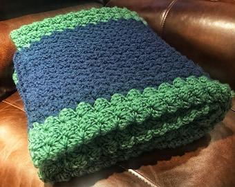 Chunky Crochet Blanket-Lap
