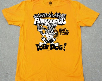 Parliment Funkadelic Dope Dog T-shirt