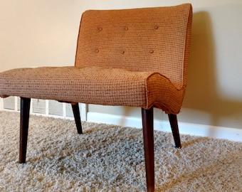 Mid Century Slipper Chair
