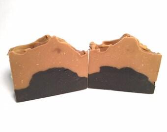 Black & Tan Stout Soap - Man Soap - Handmade Soap