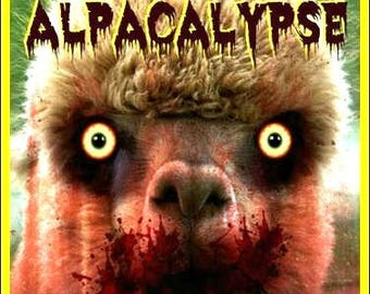 Zombie Alpacalypse - Magnet