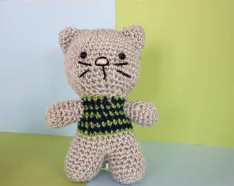 Oscar the Cat - Crochet Toy