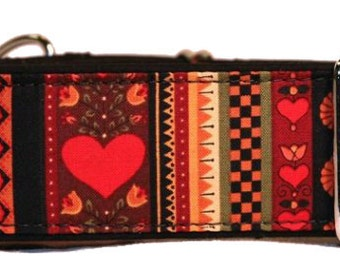 Pennsylvania Dutch Design Martingale Collar-