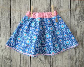 Sweet girls skirts, pink/blue, Gr. 98/104