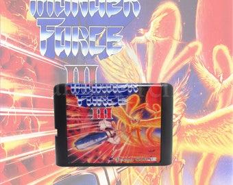 Thunder Force III fan made reproduction Sega Genesis Mega Drive