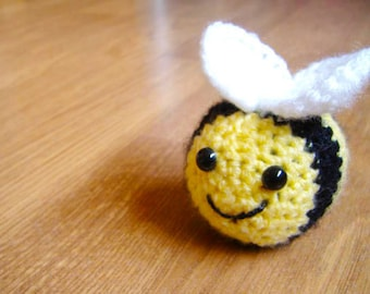 Crocheted Bee Soft Toy