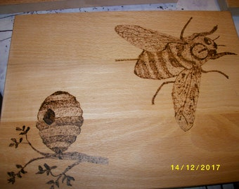 PYROGRAPHY WOOD ANIMALS