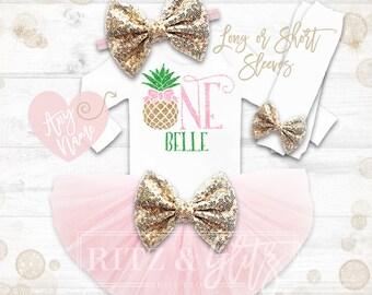 Pineapple Birthday Shirt | Pineapple 1st Birthday Outfit | Pineapple Birthday Shirt | Summer Birthday Outfit | Laau Birthday Shirt