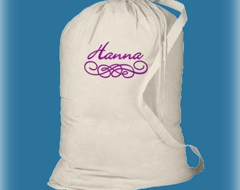 Monogrammed Laundry Bag, Girls Graduation Gifts, High School Graduation Gifts, College Laundry Bag, Senior Gifts, Large Laundry Bag, Dorm