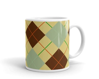 Textile pattern look Mug