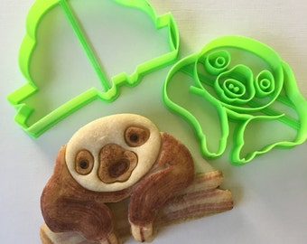 Baby Sloth Cookie Cutter Set