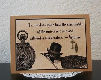 Clockmaker - Voltaire