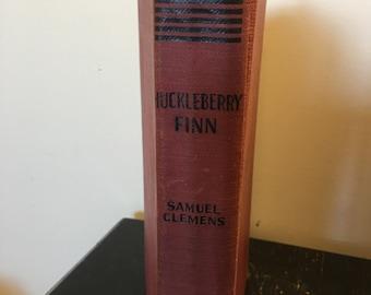 The Adventures of Huckleberry Finn ~ Samuel L Clemens ~ Vintage Book