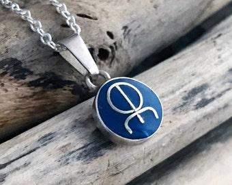 Celtic Symbol of Love, Art and Harmony - Rune Pendant Necklace - Love Pendant - Love Necklace - Love Runes- Love Pendant Necklace SUE042
