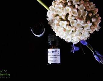Serenity - Organic Essential Oil Blend for Stress