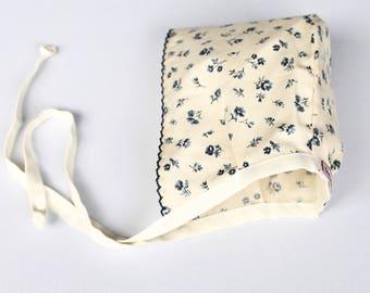 Baby Girl Bonnet 0-3 Months
