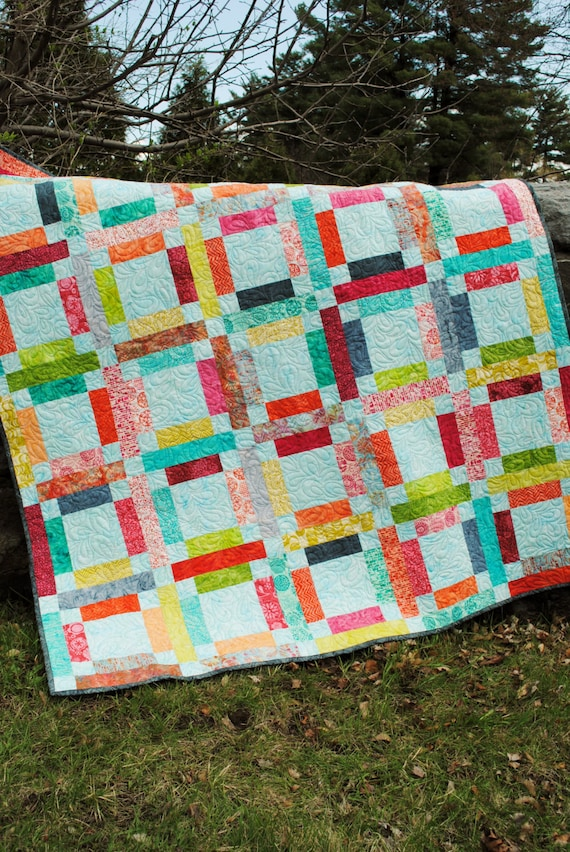 Pdf Quilt Pattern One Jelly Roll Easy And Quick Grandma