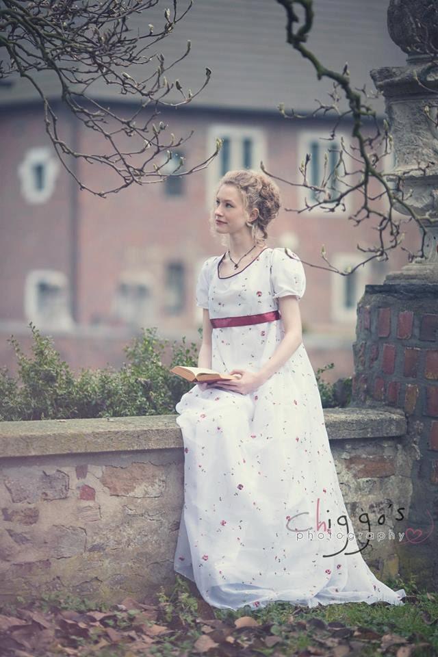 Regency dress Jane Austen dress romantic wedding dress
