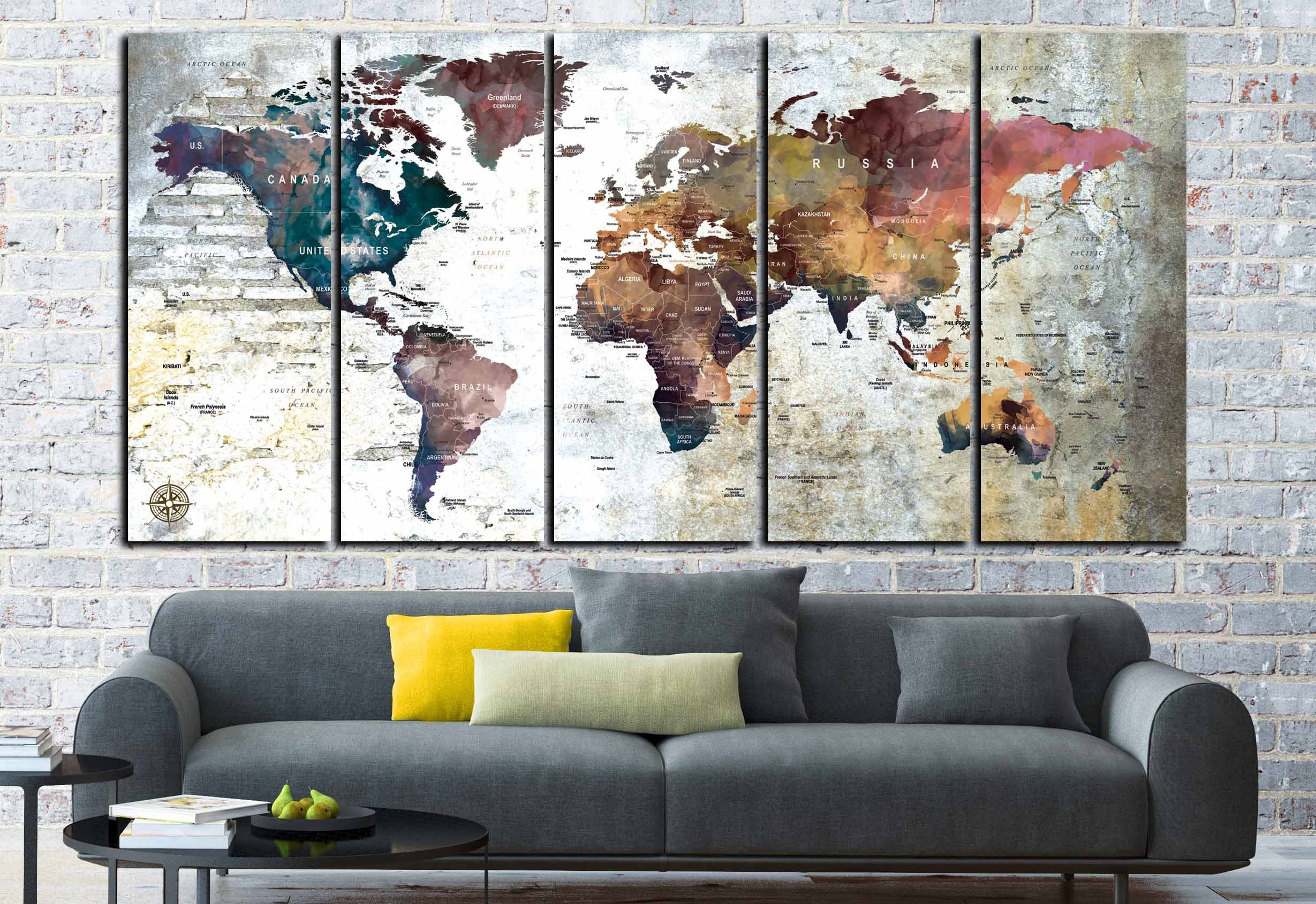 Large world map canvas panelsworld map wall artworld map art large world map canvas panelsworld map wall artworld map artworld map printworld map canvasworld map abstract artworld map vintage publicscrutiny Image collections