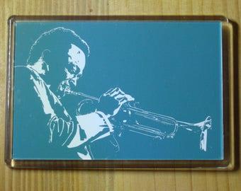 Miles Davis Fridge Magnet