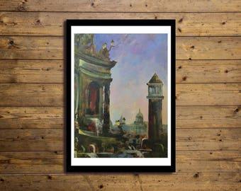 Poster Artistico 50x70cm URBAN 2