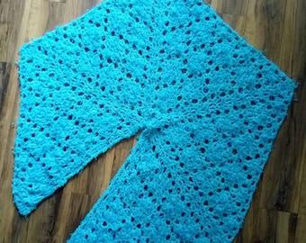 Pentagon shawl