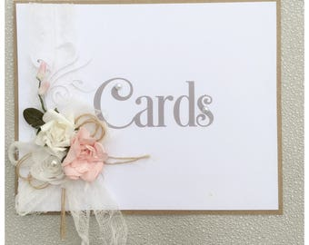 Rustic, shabby chic signs and table numbers