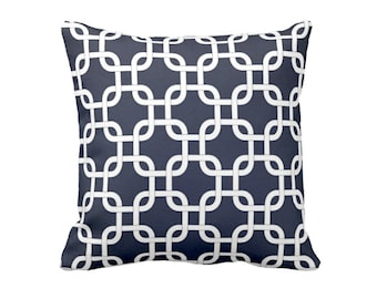 SALE | 50% OFF: 18x18 Pillow Cover Navy Blue Pillow Cover Navy Throw Pillow Cover Gotcha Pillows Sofa Pillows Couch Pillows Blue Pillowcase