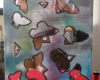 Unique Decor, Innovative creativity. abstract art , wall accessory