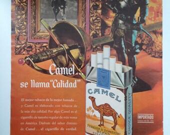 """Cigarettes """"Camel"""" Vintage Ad"""